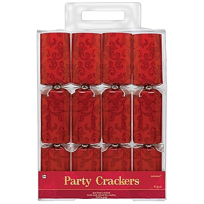 Amscan Holiday Crackers, 12.25