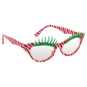 "Amscan Fashion Candy Cane Glasses, 2"" x 6"", 2/Pack (397685)"