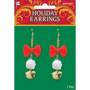 "Amscan Holiday Earrings, 3"", 3/Pack, 2 Per Pack (392367)"