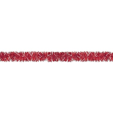 Amscan Candy Cane Tinsel Boa Garland, 9', 2/Pack (220200)