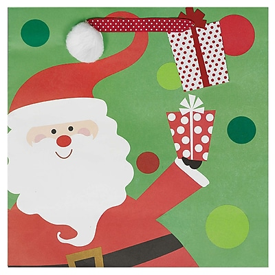 Amscan Whimsical Santa Bag, 12