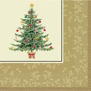 """Amscan Classic Victorian Tree Dinner Napkin, 7.75"""" x 7.75"""", 5/Pack, 16 Per Pack (529901)"""