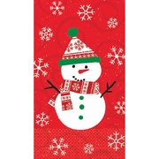 "Amscan Very Merry Guest Towel 7.75"" x 4.5"", 5/Pack, 16 Per Pack (538507)"