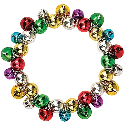 Amscan Jingle Bell Bracelet, 4/Pack (397749)