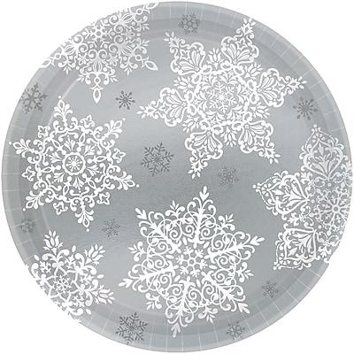 Amscan Shining Season Paper Plate, 7