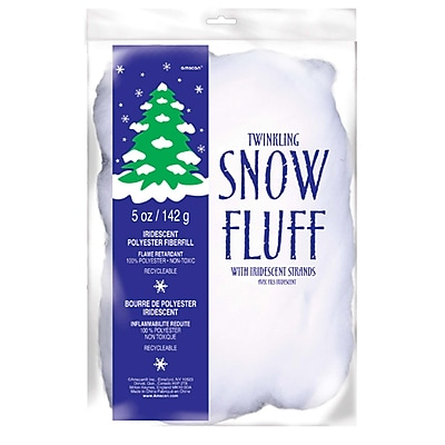Amscan Twinkle Fluff, 5oz, Polyester, 2/Pack (240383)