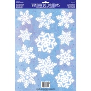 Amscan Snowflake Window Decoration, 6/Pack (210222)