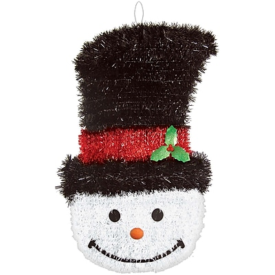 Amscan Deluxe Snowman Tinsel Decoration, 21
