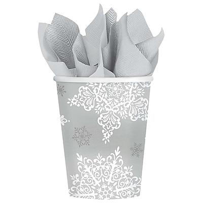 Amscan Shining Season Paper Cup, 9oz, 2/Pack, 50 Per Pack (689546)