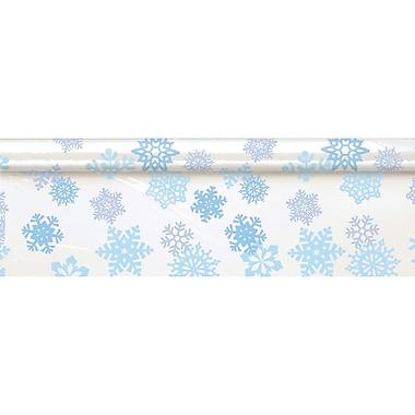 Amscan Snowflake Tableroll Clear, 40