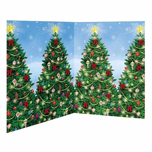 Amscan Evergreen Christmas Scene Setter, 4' X 40' (674000)