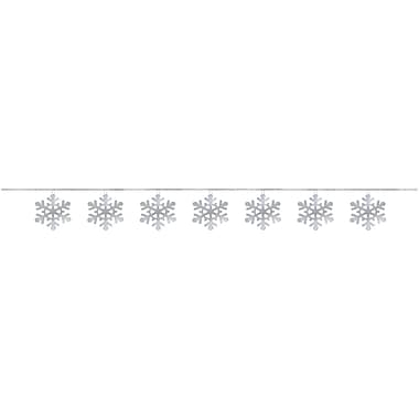 Amscan Snowflake Sequin Ring Garland, 9', 6/Pack (220219)