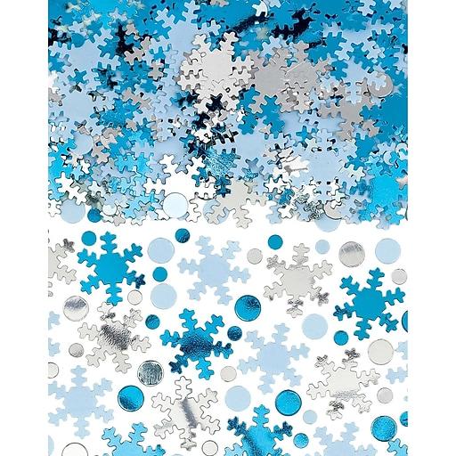 Amscan Snowflake Confetti, 5oz, 2/Pack (360550)
