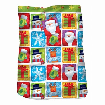 Amscan Holiday Friends Giant Gift Sack, Plastic, 44