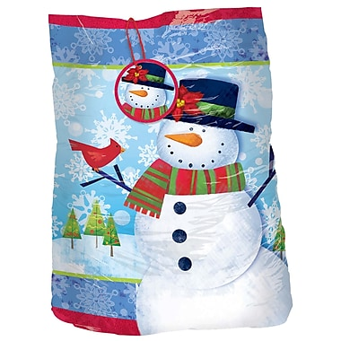 Amscan Frosty Friends Giant Gift Sack, Plastic, 56