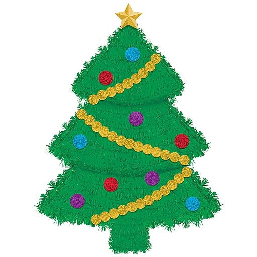 """Amscan Deluxe Tree Tinsel Decoration, 22"""" x 16"""" x 2.9"""", 2/Pack (241609)"""