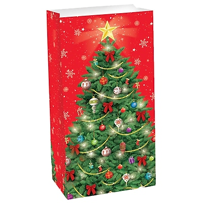 Amscan Tree Treat Bag, 10