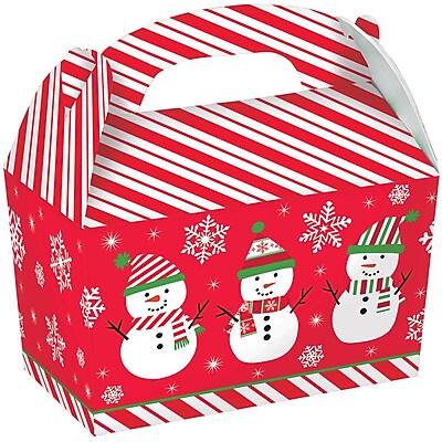 Amscan Snowman Gable Box, 6.25