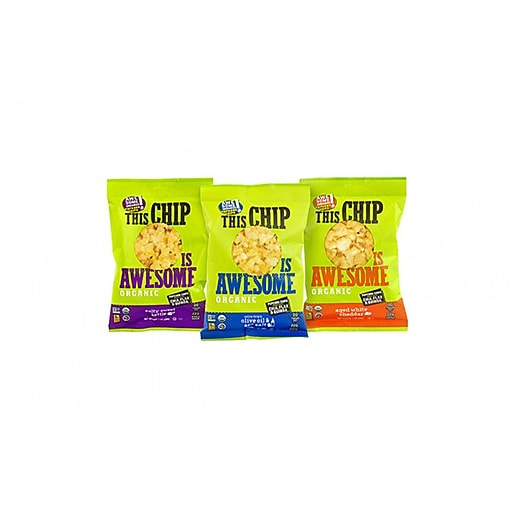 This Chip Is Awesome Organic Popcorn Chips Variety Pack, 1
