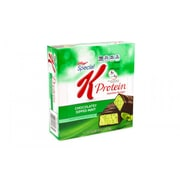 Special K Protein Meal Bar Chocolaty Dipped Mint, 1.59 oz, 8 Count, Pack of 2 (295-00020)