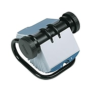 Rolodex Rotary Business Card File, 400 Card Capacity,  Black (67236)