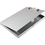 Saunders Tuff Writer Aluminum Storage Clipboard, Silver (45300)