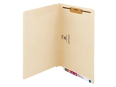 Smead End Tab Classification Folders, Shelf-Master Reinforced Straight-Cut Tab, Legal Size, Manila, 50/Box (37110)