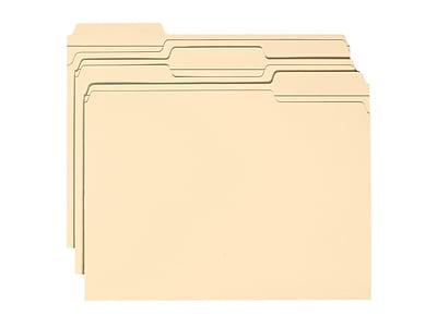 Smead Heavy Duty Classification Folders, 1/3-Cut Tab, Letter Size, Manila, 50/Box (14595)