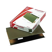 """Pendaflex Reinforced Hanging File Folders, Extra Capacity, 5-Tab, Legal Size, 2"""" Expansion, Standard Green, 25/Box (PFX 04153x2)"""