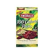 Emerald Cocoa Roast Nuts, Dark Chocolate Almonds, 0.63 Oz., 7/Box (843256)