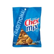 Chex Mix Traditional Snack Mix, Savory, 3.75 Oz., 8/Box (35181)