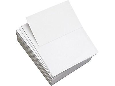"Domtar Willcopy Custom Cuts 8.5"" x 11"" Copy Paper, 20 lbs., 92 Brightness, 2500/Carton (851055)"