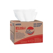WypAll X80 HydroKnit Wipers, White, 160/Carton (41044)