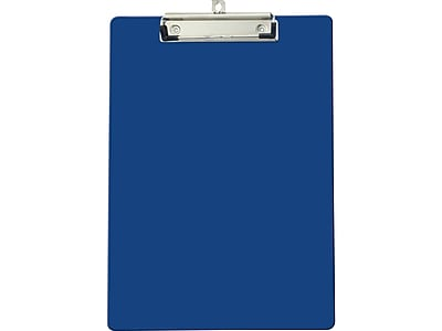 OfficeMate Plastic Clipboard, Blue (83041)