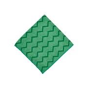 Rubbermaid HYGEN Microfiber Dry Cloths, Green, 12/Carton (FGQ62000GR00)