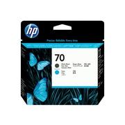 HP 70 DesignJet C9404A Printhead, Matte Black, Cyan