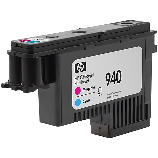 HP 940 OfficeJet C4901A Printhead, Magenta/Cyan