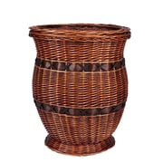 Household Essentials Large Willow Poplar Wicker Urn Table (ML-2251)