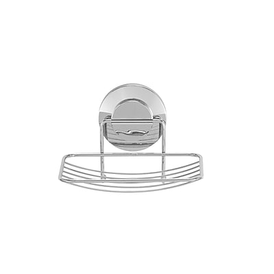 Everloc Push N' Loc Soap Holder With Chrome Cover (79001)