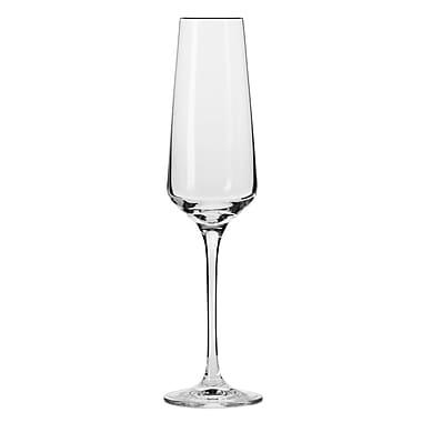 KROSNO Vera 6 oz. Champagne Flutes, Set of 6 (K739-1)