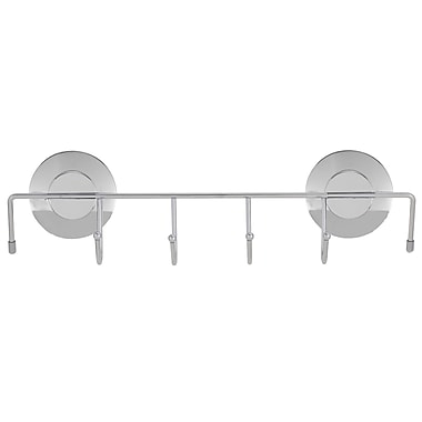 Everloc Push N' Loc Small Towel Holder With Chrome Cover (79027)