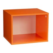 Household Essentials Single Cubby, Orange (8005-1)