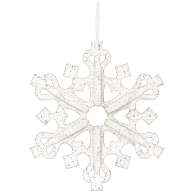 Amscan 3D Glitter Snowflake Decoration, 14