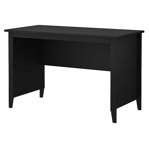Kathy Ireland Home By Bush Furniture Connecticut 48w Writing Desk Black Suede Oak Https Www Staples 3p S7 Is