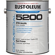 Rust-Oleum Commercial 5200 System Direct To Metal Acrylic Primer, Red, 1 Gallon (5269402)