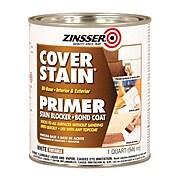 Rust-Oleum Zinsser High Hide Cover-Stain Primer, White, Quart (3554)