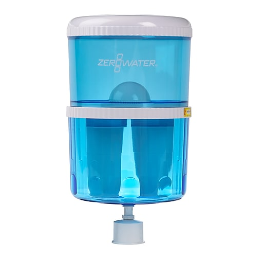 ZeroWater 5 Gallon Filtration Water Cooler Bottle with Electronic Tester  (ZJ-003)