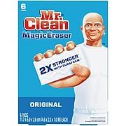 Mr. Clean Magic Eraser Original, Cleaning Pads with Durafoam, 6 count(79009)
