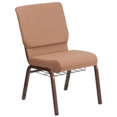 Fabric Church Chair [FD-CH02185-CV-BN-BAS-GG]