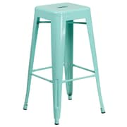 30'' High Backless Mint Green Indoor-Outdoor Barstool (ET-BT3503-30-MINT-GG)